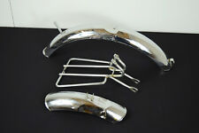Vintage Raleigh Commando Mudguards and Rear Rack