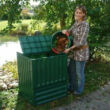 Exaco Eco King 400 Recycled Plastic 110-gal. Medium Compost Bin, Green