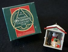New Listing1988 Hallmark Our Clubhouse Keepsake Ornament Collector's Club in Box!