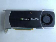 NVIDIA QUADRO 5000 GF100 PCI-EX16 320 IT BUS WIDTH 2.5 GB GDDR5 DVI/2 X DISPLAY