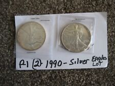 2-1990 SILVER EAGLE