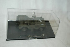 Jeep Willys Diecast 1:32 Pull Back WWII Military U.S. Army Vehicle New Ray Toys