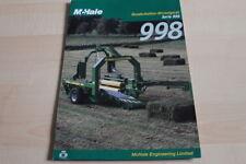 128327) McHale Quaderballen Wickelgerät 998 Prospekt 200?