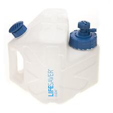 Lifesaver Cube 5000 Litr Water Filter Purifier 1.3 Gallon Jug Can Fridge,UK made