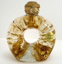 Genuine 22K Gold Leaf Bath Body & Massage Oil Handblown Glass Bottle 8.9 oz