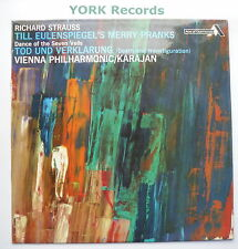 SDD 211 - STRAUSS - Till Eulenspiegel's Merry Pranks KARAJAN - Ex LP Record