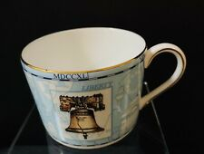 Wedgwood Millenium 1997 Bone China Expresso Blue Cup Bell Coach Clock 297