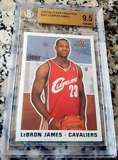 LEBRON JAMES 2003 Fleer Tradition #261 Rookie Card RC Cavaliers BGS 9.5 x 4 MVP