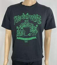 Robert Graham Men's Leprechaun Pot Of Gold N.Y.C Black Logo T-Shirt Tee Size L