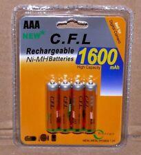 4St. AAA Aufladbare Akku Batterie Ni-MH 1,2V 1600mAh Camera Telefon RC Fahrzeuge