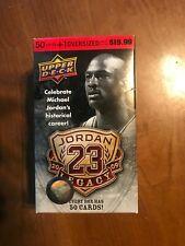 Michael Jordan 2009 2010 Upper Deck Legacy Box Set Opened 51 CARDS STILL SEALED
