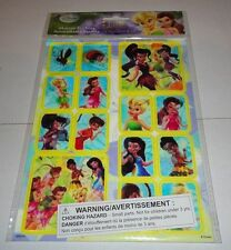 Sheet of 14 Different Disney Fairies Motion Autocollant Sticker Animes NEW NIP
