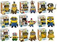 DESPICABLE ME  -  POP FIGURE 12 DESIGNS TO CHOOSE FROM - FUNKO GRU MINIONS KYLE