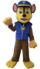 Chase Paw Patrol Mascot Costume Suit Cosplay Party Adults
