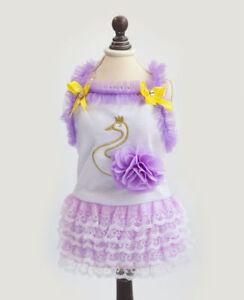 Various Cute Pet Dog Love Dress Lace Skirt Princess Clothes Party Dress Santa
