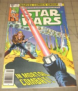 STAR WARS #37 (July 1980) VF Condition Comic - In Mortal Combat - News Stand