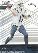 2016 Panini Clear Vision #58 Philip Rivers San Diego Chargers Football BASE