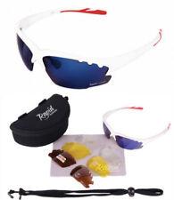 Gafas de sol de hombre polarizadas azul de plástico