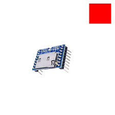 BY8001-16P U-Disk Audio Player Microcontrol TF/ SD Card MP3 Voice Module Arduino