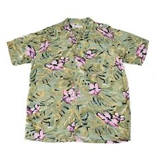 Vintage C&A Camisa Hawaiana | Hombres M | Botón Retro Aloha patrón Canda Gráfico