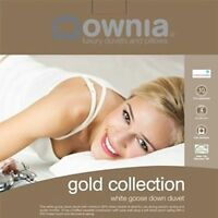 DOWNIA Gold Collection White Goose Down Quilt Doona Duvet KING Size RRP $899 NEW