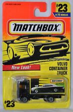 Matchbox 1997 #23 Volvo Container Truck MOC New Look VHTF MBX Auto Products