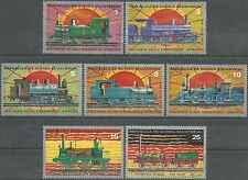 Timbres Trains Guinée équatoriale 30/PA15 o lot 25355