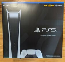 Sony PS5 Digital Edition Console - White NEW