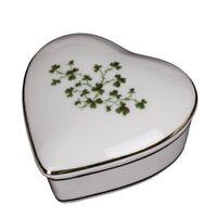 Irish Shamrock Wooden Box Free Personalized Latched Gift Box