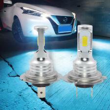 2x H7 LED Headlights Bulbs Kit High/Low Beam 80W Bright 8000K Ice Blue Fog Lamp