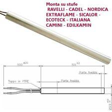 Resistenza Candeletta per Stufa a Pellet 9,9mm 300W 155mm EdilKamin ravelli nord