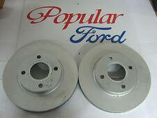 New Genuine Ford Mondeo / Scorpio Front Vented Brake Discs - 1757848