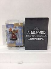 DD D&D Attack Wing Tyranny of Dragons Blind Booster Rath Modar Human Red Wizard