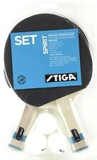 STIGA SPIRIT SET OF 2 RACKETS AND 3 BALLS FOR TABLE TENNIS