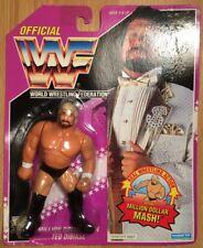 WWF Hasbro Ted Dibiase Million Dollar Man 1993 Purple Card Million Dollar Mash!