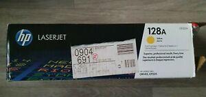Original HPCE322A Laser Jet Toner Cartridge - Yellow