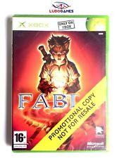 Fable Xbox Nuevo Precintado Promo Retro Sealed Brand New Videogame PALSPA