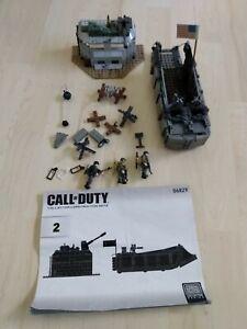 Call of Duty Mega Bloks Landing Craft Invasion 06829 - used