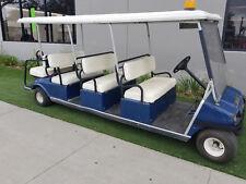 2002 Club Car Villager 8 Passenger Seat Electric Golf Cart Car Limo Limousine