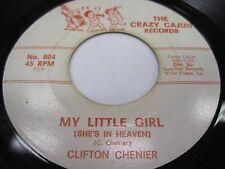 "CLIFTON CHENIER ""My Little Girl"", ""Shake 'Em Up Baby"" Crazy Cajun Ville Platte"