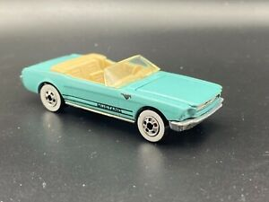1983 Hot Wheels 1965 Ford Mustang Convertible Blue 1:64 Scale NM Condition