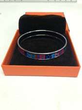 Enamel Silver Plated Fashion Bangles