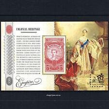 2010 - Australia - Colonial Heritage: Empire $5 mini-sheet - London overprint