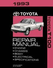 1993 toyota t100 shop service repair manual book engine oem