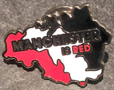 Manchester è rosso BADGE-MUFC