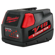 Milwaukee 48-11-1830 V18 18-Volt Lightweight Fade-Free Lithium-Ion Battery Pack