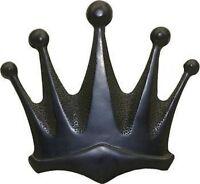 Black CROWN MATTE Finish Belt Buckle Big King Queen