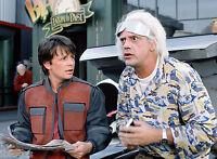 Foto Retour hacia el Futuro - Christopher Lloyd & Michael J Fox (P1) de 20X27CM