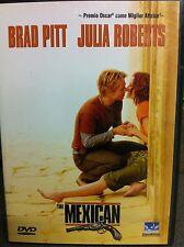 BRAD PITT JULIA ROBERTS EL MEXICANO GORE VERBINSKI Culto Comedia SUSPENSE dvd