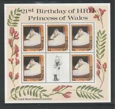 DOMINICA # 775 MNH 21ST BIRTHDAY OF PRINCESS DIANA. Miniature Sheet